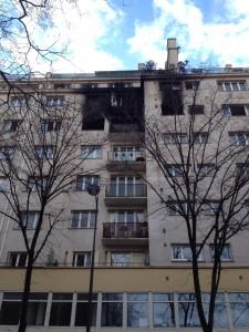 Incendie rue de Tolbiac